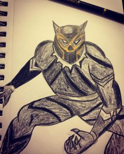 Black Panther sketch